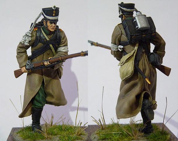 Фигурки: Рядовой 19-го Егерского полка.