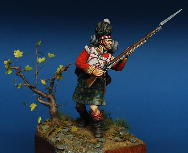 Фигурки: Шотландец 92-ого полка Гордона