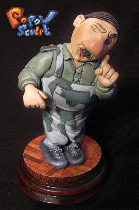 Скульптура: Прапорщик Задов, фото #2