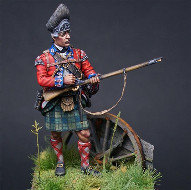 Фигурки: Шотландец