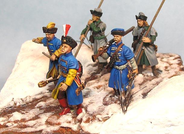 Диорамы и виньетки: Зимний поход на Москву, 1612 г.