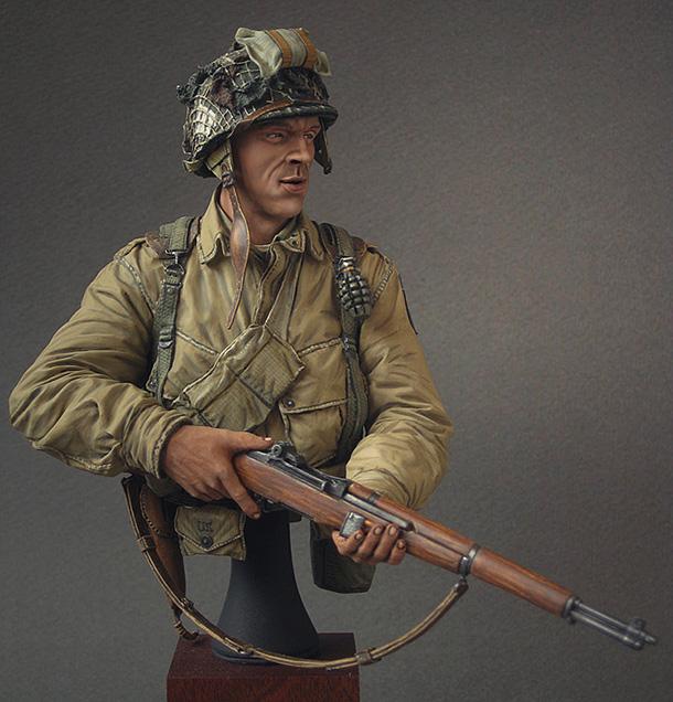 Фигурки: Американский десантник, Нормандия, 1944