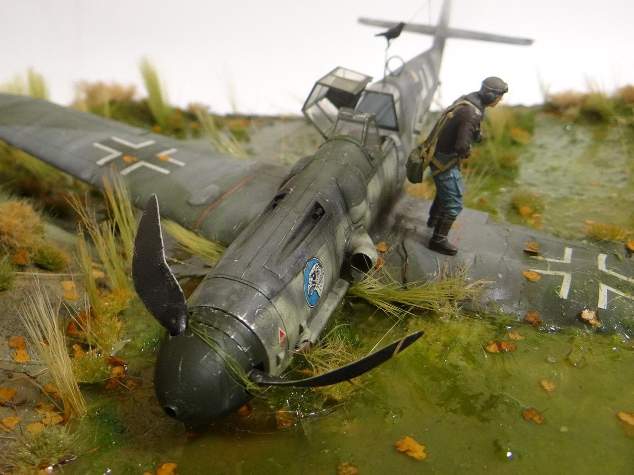 Диорамы и виньетки: Сбитый летчик, фото #5