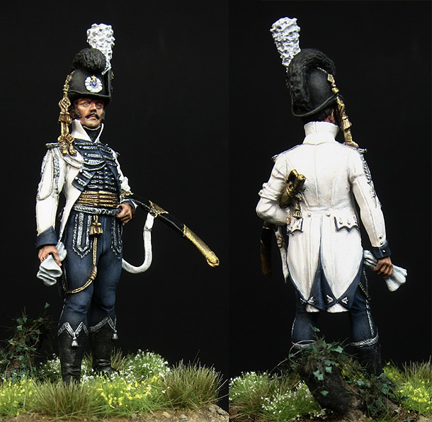 Фигурки: Офицер конной лейб-гвардии. Швеция, 1807