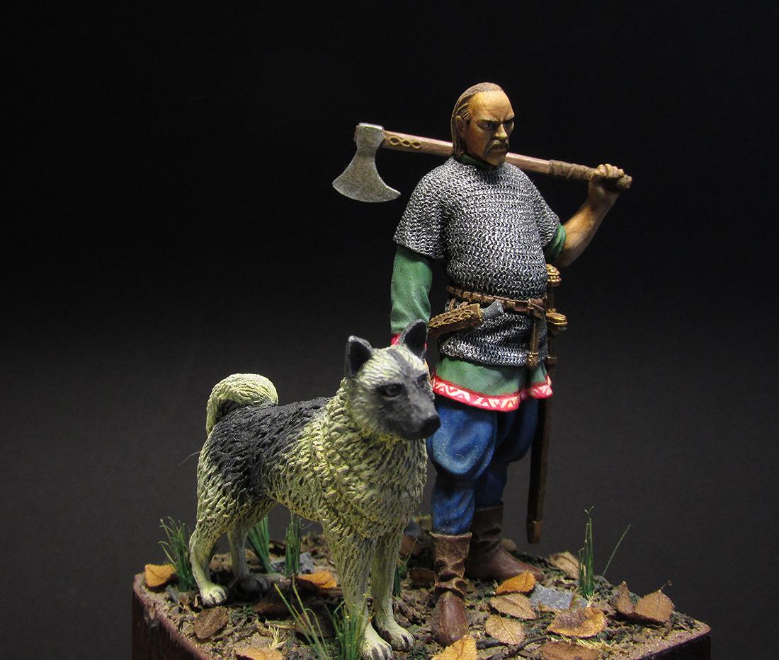Фигурки: Викинг, X век, фото #6