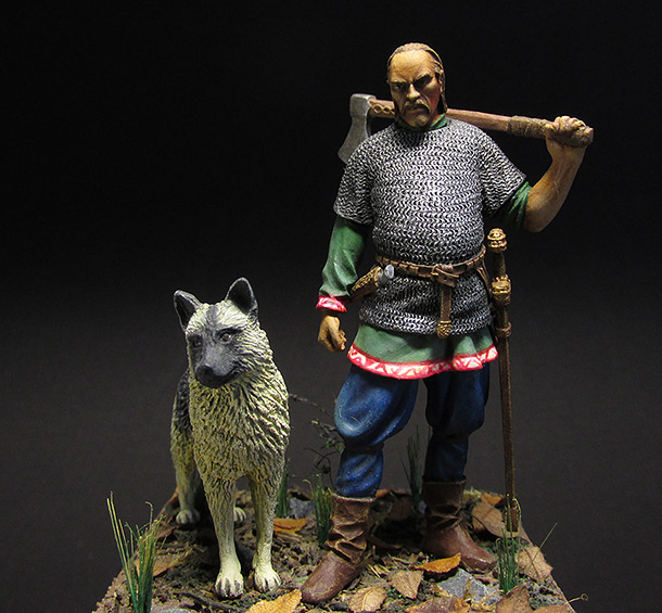 Фигурки: Викинг, X век