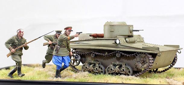 Диорамы и виньетки: Атака T-37