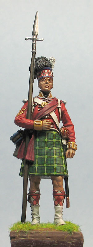 Фигурки: Солдат 92-го хайлендского полка Гордона, фото #2
