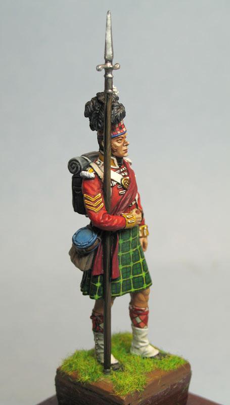 Фигурки: Солдат 92-го хайлендского полка Гордона, фото #3