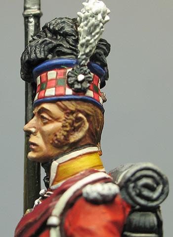 Фигурки: Солдат 92-го хайлендского полка Гордона, фото #5