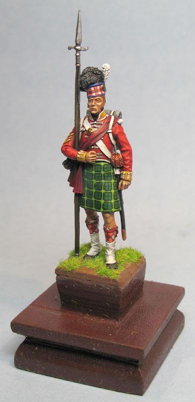 Фигурки: Солдат 92-го хайлендского полка Гордона, фото #7