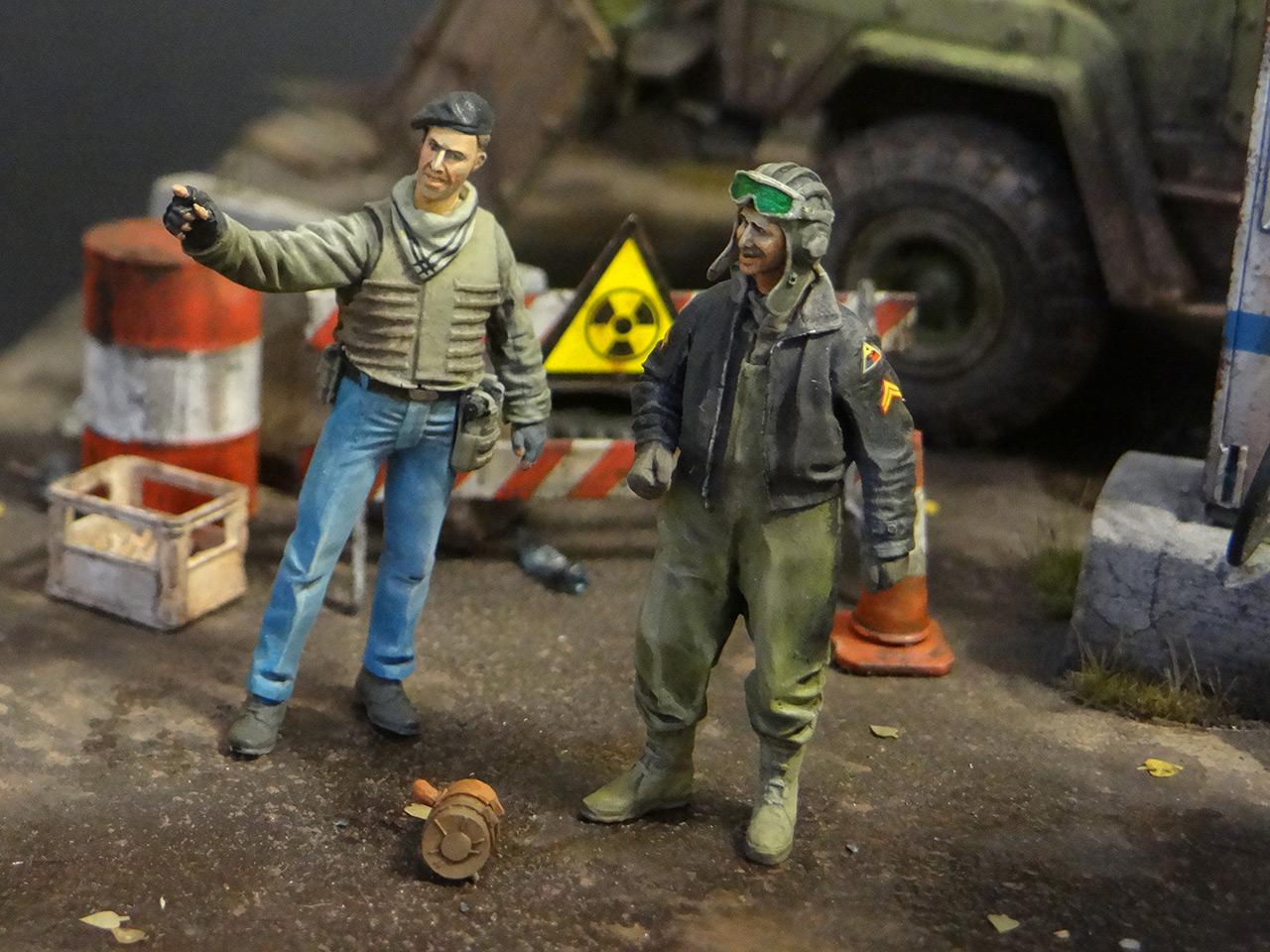 Диорамы и виньетки: Воины дорог, фото #21