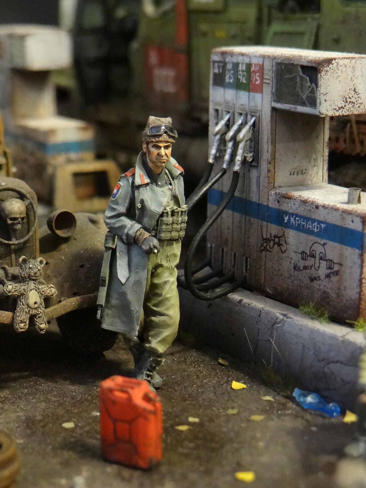 Диорамы и виньетки: Воины дорог, фото #25