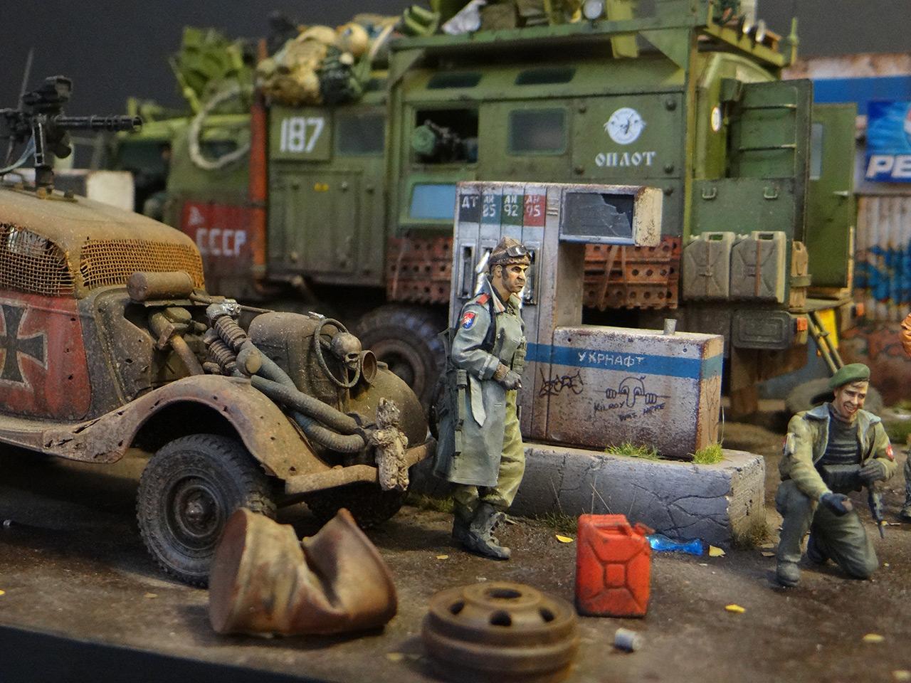 Диорамы и виньетки: Воины дорог, фото #8