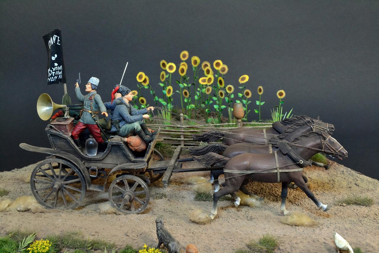 Диорамы и виньетки: Гуляй-поле, фото #6
