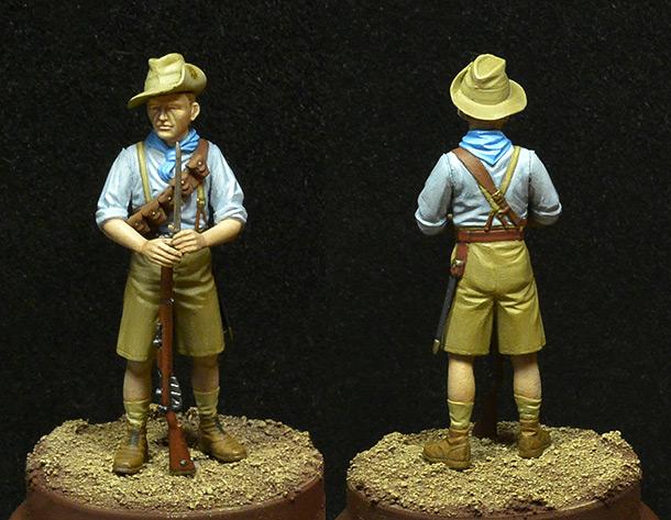 Фигурки: Пехотинец ANZAC
