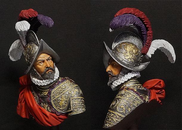 Фигурки: Испанский адмирал