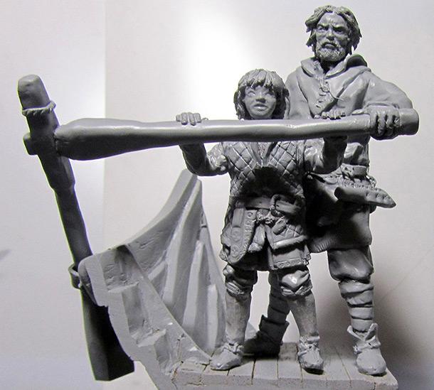 Скульптура: Сын