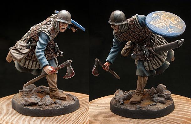 Фигурки:  Итальянский ополченец, ок. XIV в.