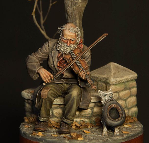 Диорамы и виньетки: Старый скрипач