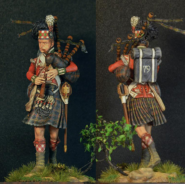 Фигурки: Горец. 79-й полк