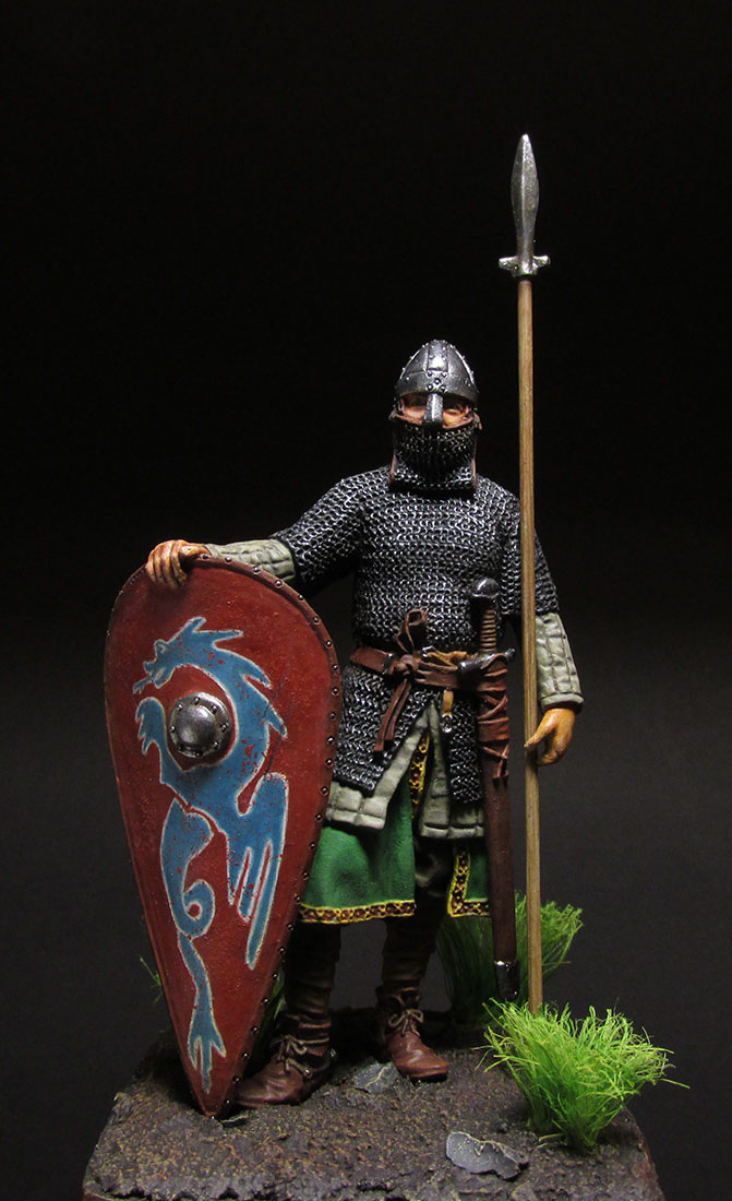 Фигурки: Нормандский рыцарь, фото #1