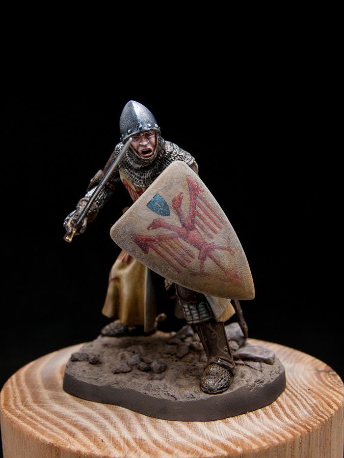 Фигурки: Итальянский рыцарь. Первая пол. XIV в., фото #1