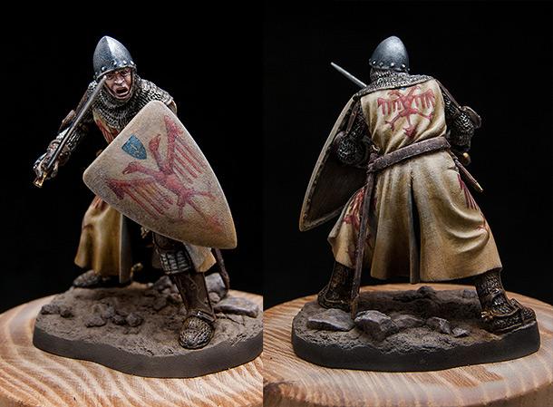 Фигурки: Итальянский рыцарь. Первая пол. XIV в.