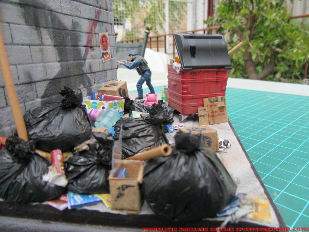Диорамы и виньетки: Самый грязный уголок Нью-Йорка, фото #11