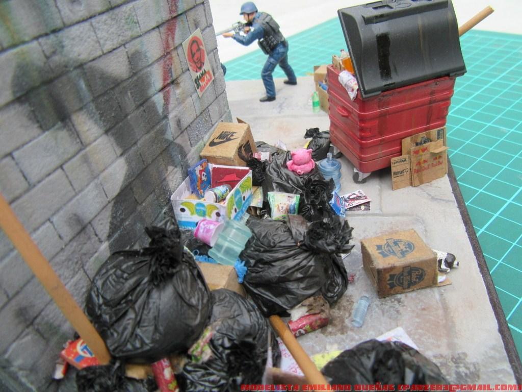 Диорамы и виньетки: Самый грязный уголок Нью-Йорка, фото #12