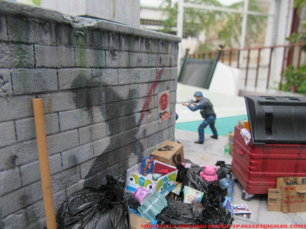 Диорамы и виньетки: Самый грязный уголок Нью-Йорка, фото #13