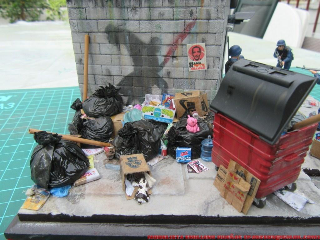 Диорамы и виньетки: Самый грязный уголок Нью-Йорка, фото #2