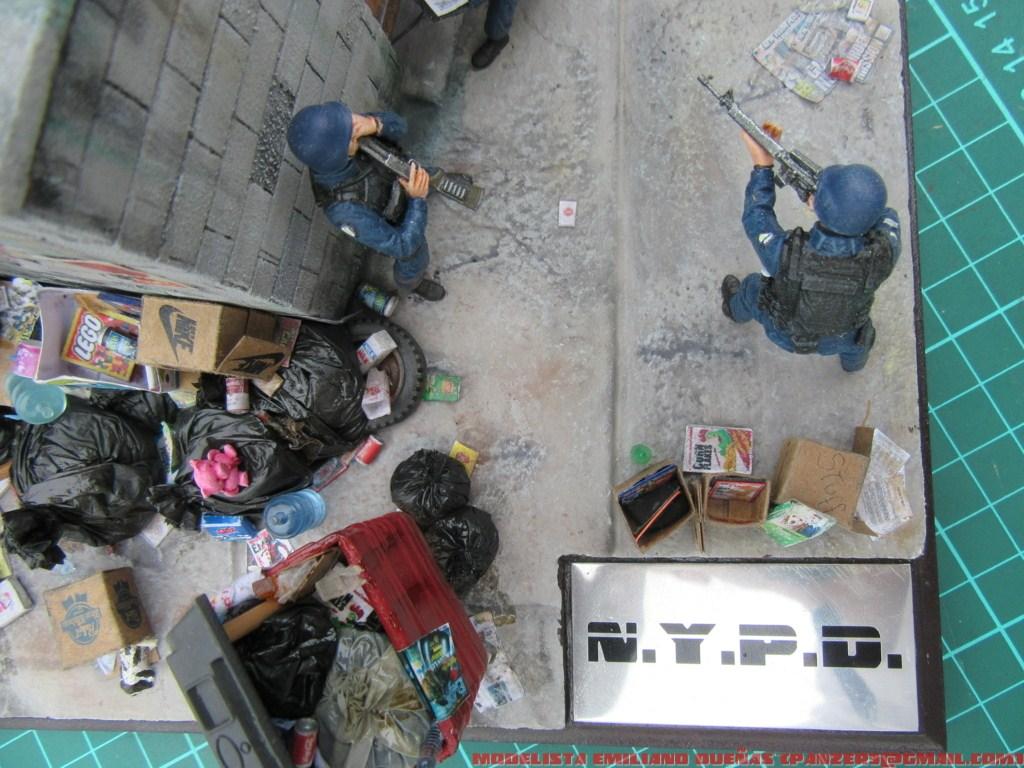 Диорамы и виньетки: Самый грязный уголок Нью-Йорка, фото #23