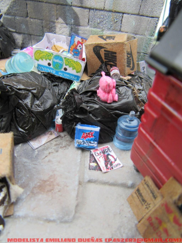 Диорамы и виньетки: Самый грязный уголок Нью-Йорка, фото #3