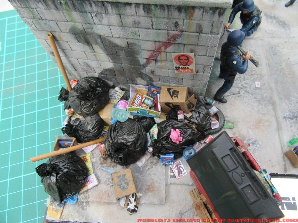 Диорамы и виньетки: Самый грязный уголок Нью-Йорка, фото #4
