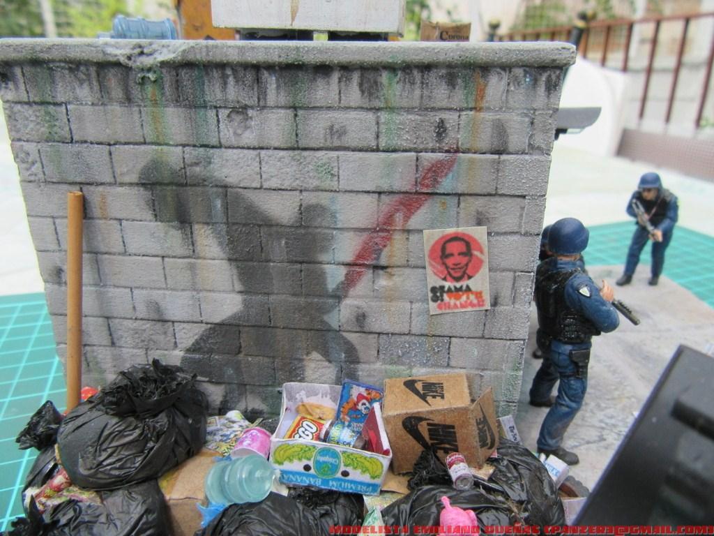 Диорамы и виньетки: Самый грязный уголок Нью-Йорка, фото #5