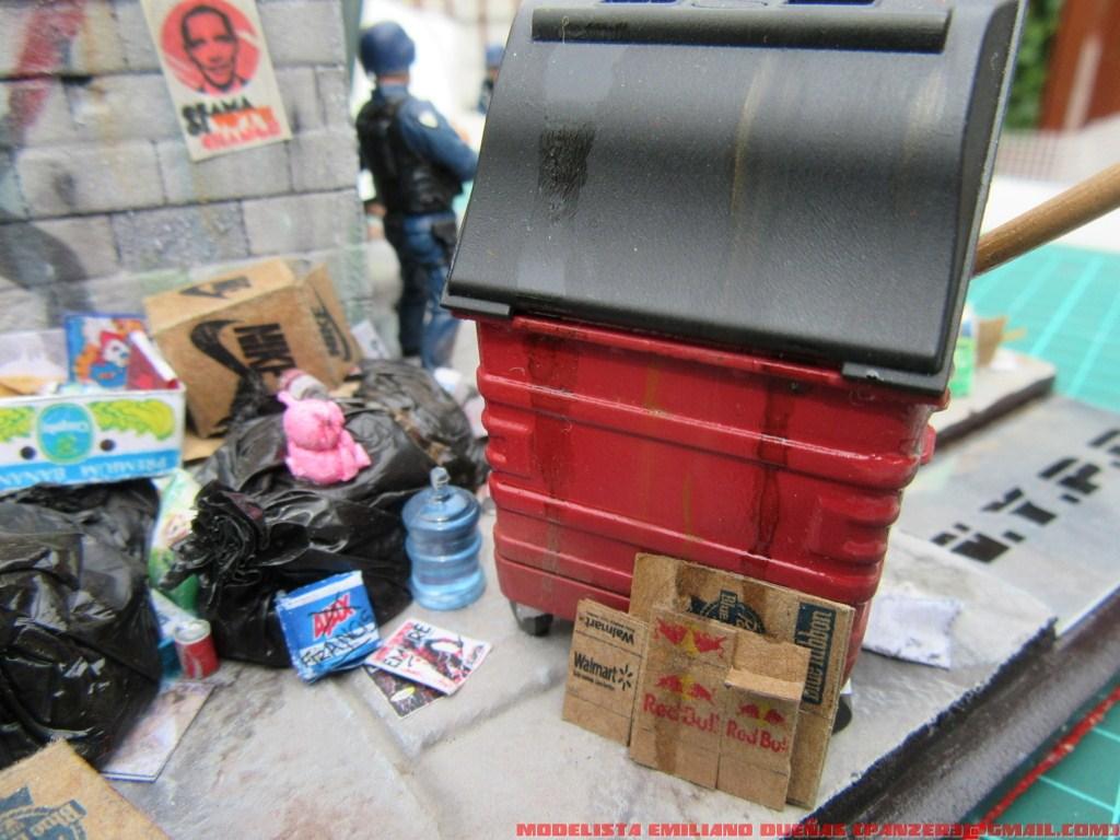 Диорамы и виньетки: Самый грязный уголок Нью-Йорка, фото #6