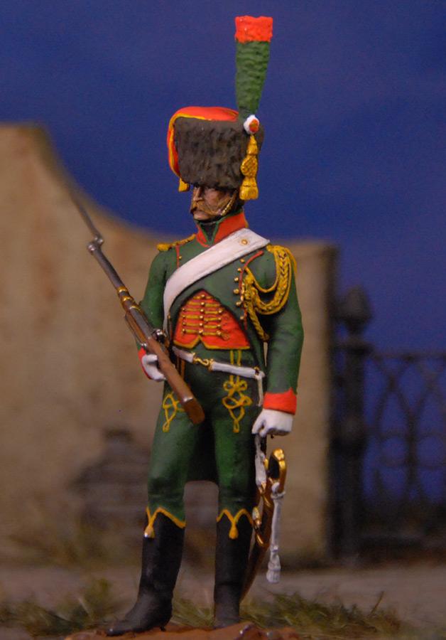 Фигурки: Французский гвардейский егерь, фото #2