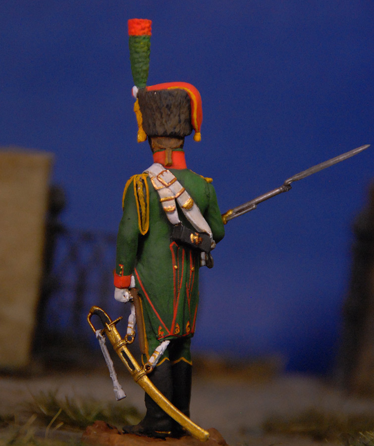 Фигурки: Французский гвардейский егерь, фото #3