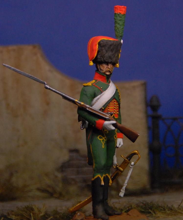 Фигурки: Французский гвардейский егерь, фото #4