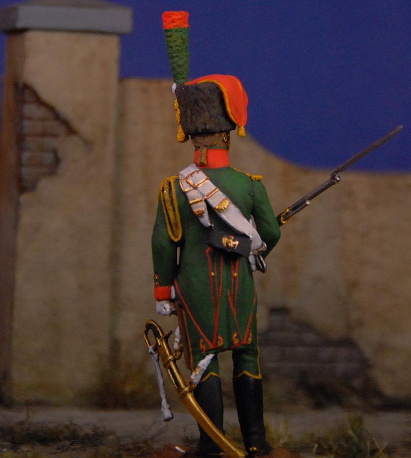 Фигурки: Французский гвардейский егерь, фото #5