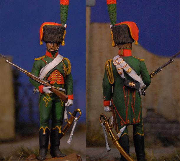 Фигурки: Французский гвардейский егерь