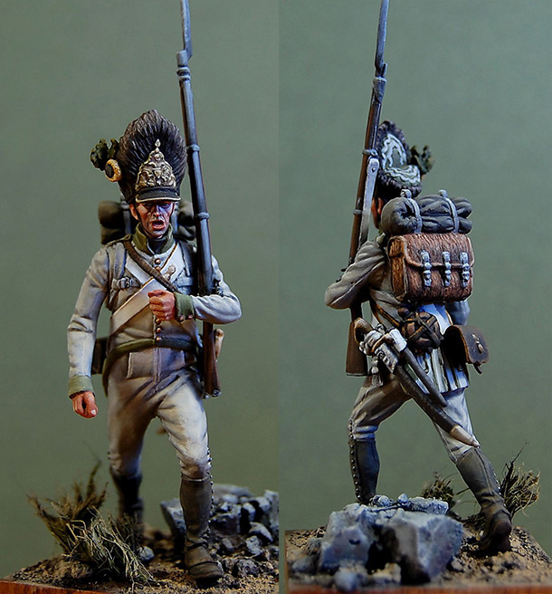 Фигурки: Гренадер 9-го полка, Австрия, 1812