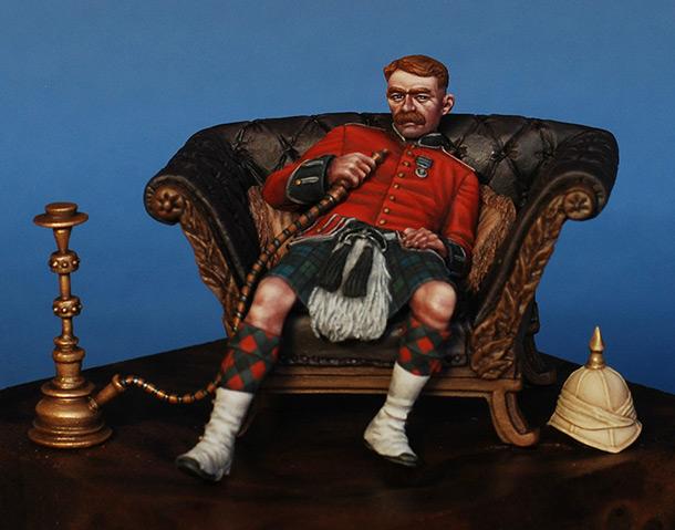 Фигурки: Шотландец,Викторианская эпоха.