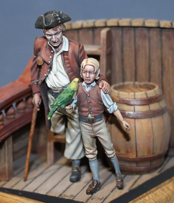 Диорамы и виньетки: На борту «Испаньолы»
