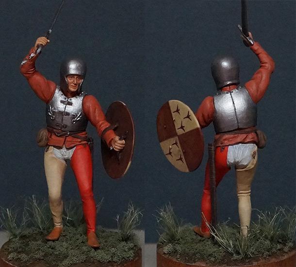 Фигурки: Итальянский пехотинец