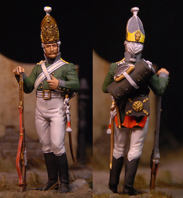 Фигурки: Гренадер. Селенгинский пехотный полк. 1805 г.