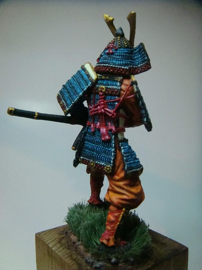 самурай фигурка фото напряжение, было