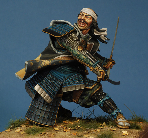 Фигурки: Сражающийся самурай