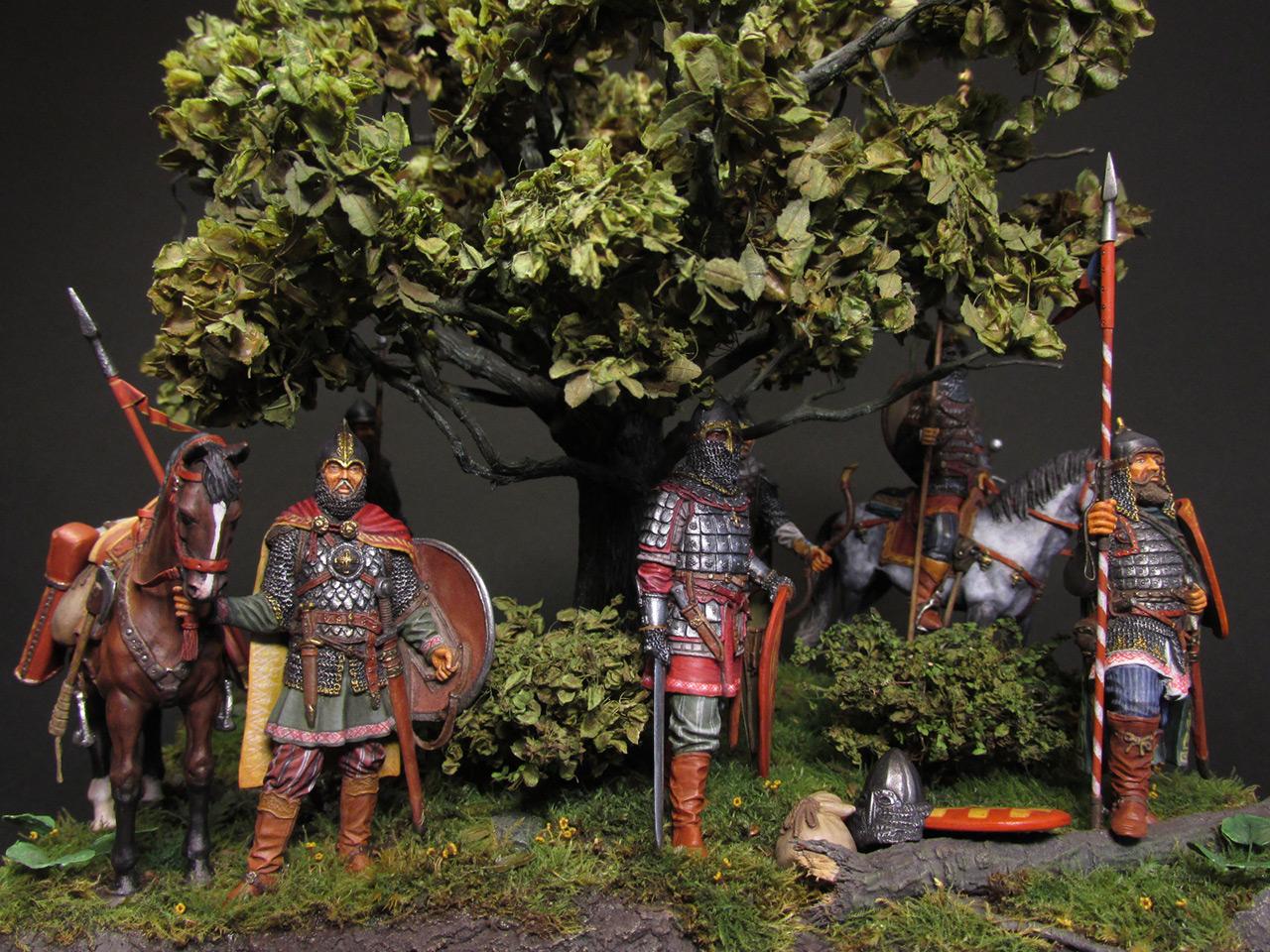 Диорамы и виньетки: Засадный полк, фото #1